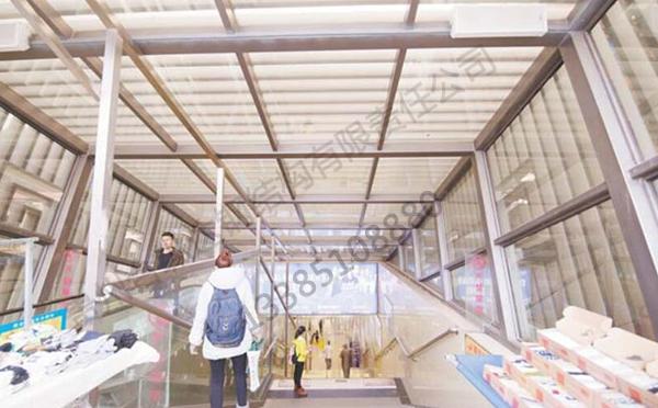 花溪地下商场钢结构制作与安装
