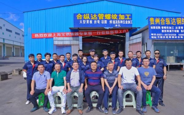 寶鋼專家團隊來公司指導工作